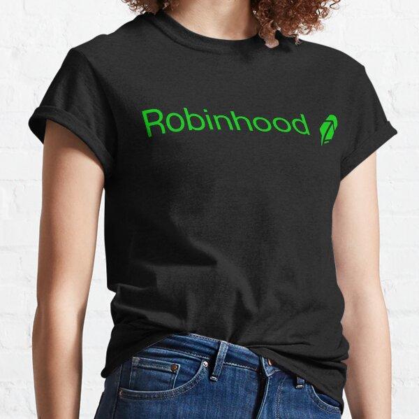 Camiseta Robinhood Trade Camiseta clásica