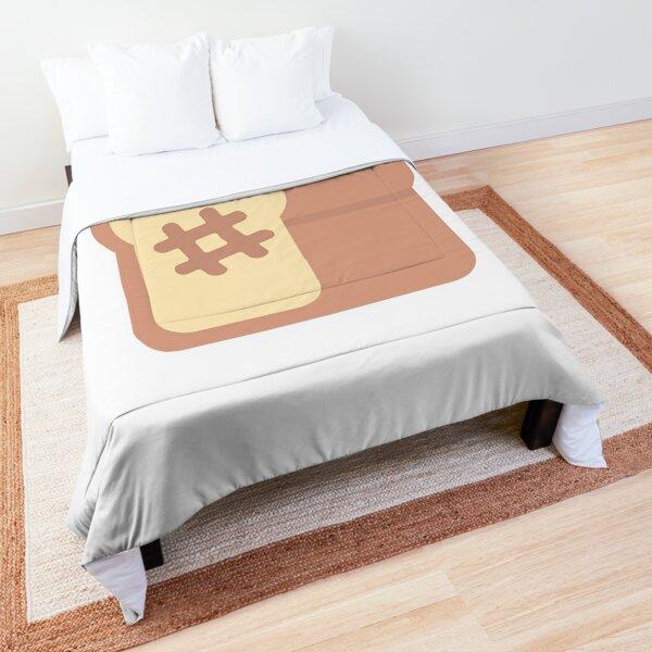 Hash N Toast Logo Comforter