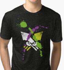Splatoon - Turf Wars 2 Tri-blend T-Shirt