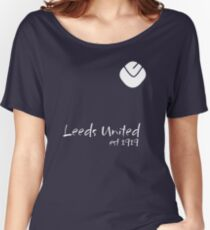 Leeds United - est1919 white Women's Relaxed Fit T-Shirt