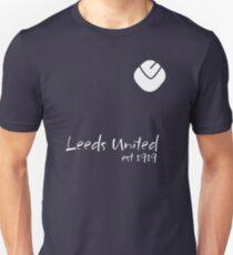 Leeds United - est1919 white Unisex T-Shirt