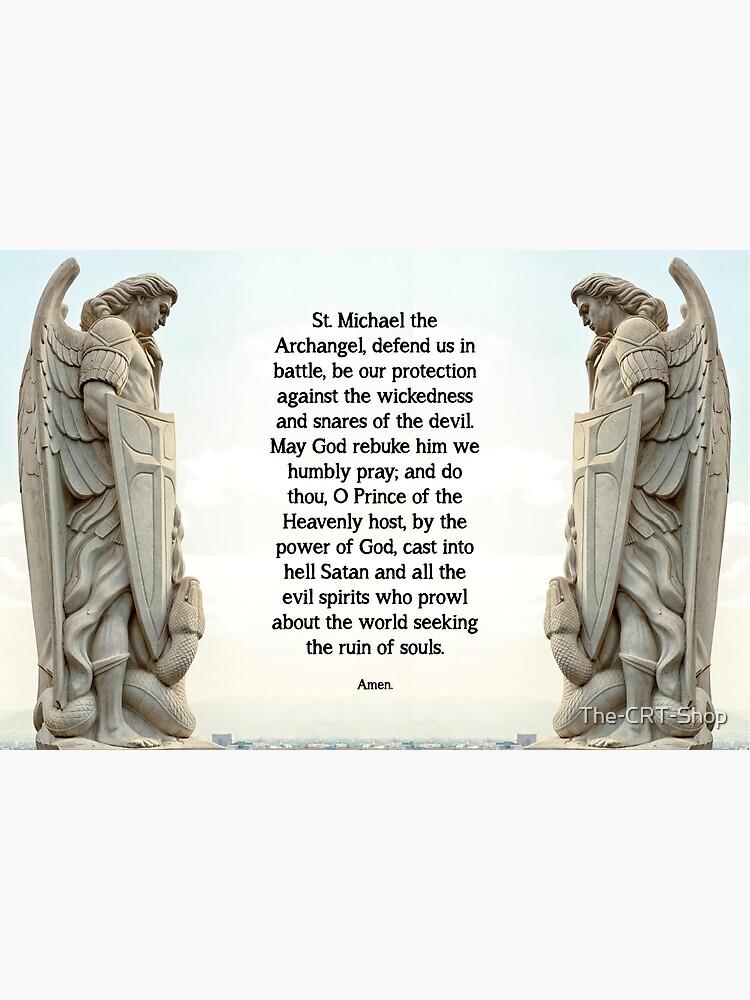 St. Michael Prayer - 3 by The-CRT-Shop