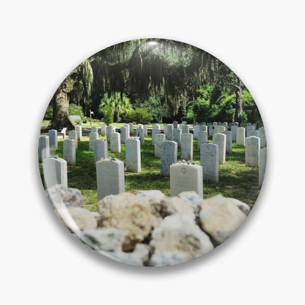 Memory etched in stone Pin