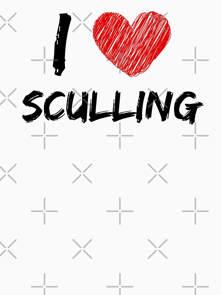 I Love Sculling by Design-Co
