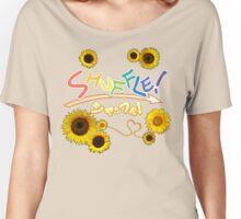 Shuffle! Anime Logo Women's Relaxed Fit T-Shirt