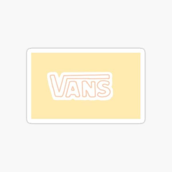 Logo Vans Sticker