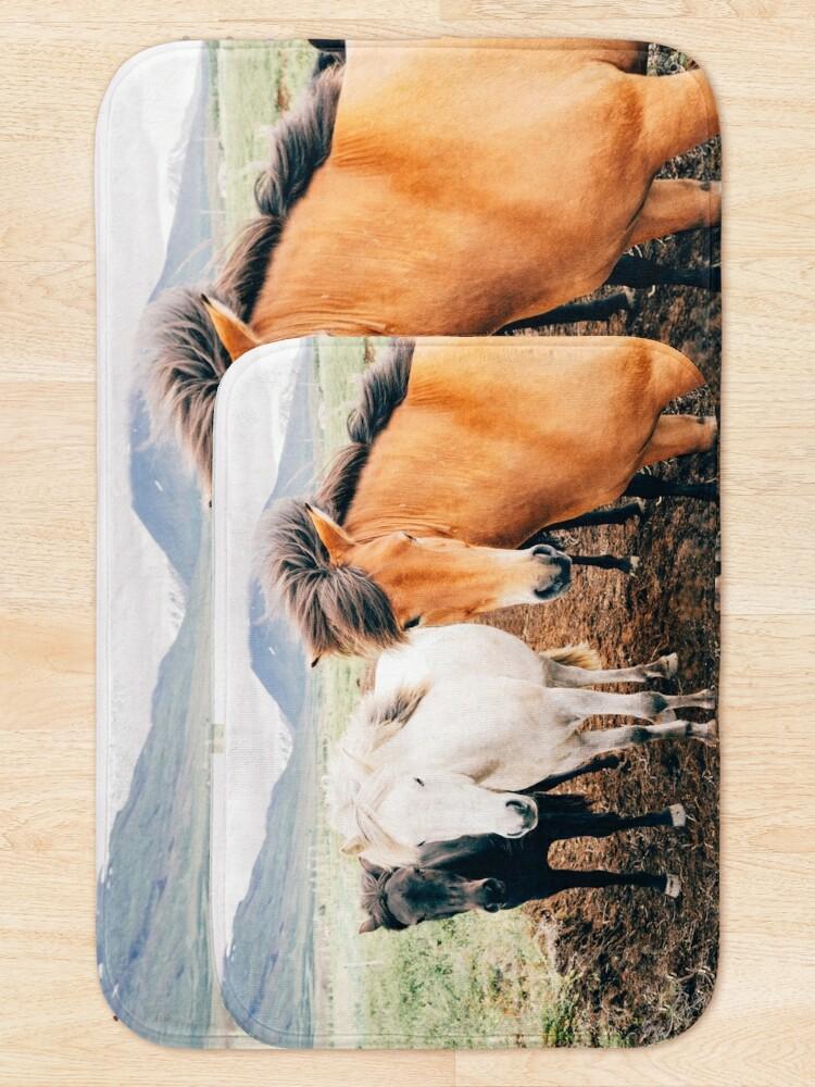 Alternate view of Fergus The Horse Bath Mat