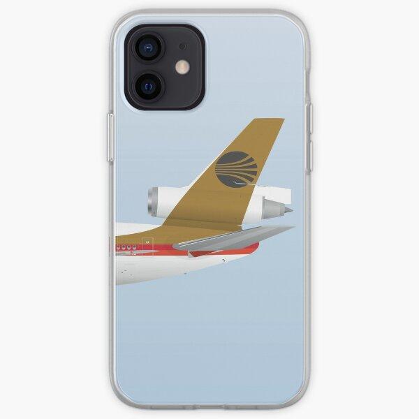 Ailes en uniforme - DC-10 - Continental Airlines 70's Coque souple iPhone
