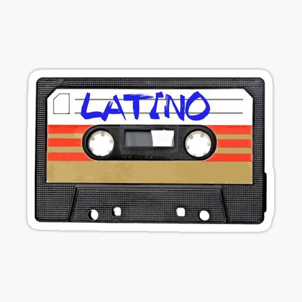 Cinta de música latina latina Pegatina