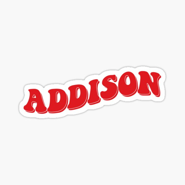 Addison rae Sticker