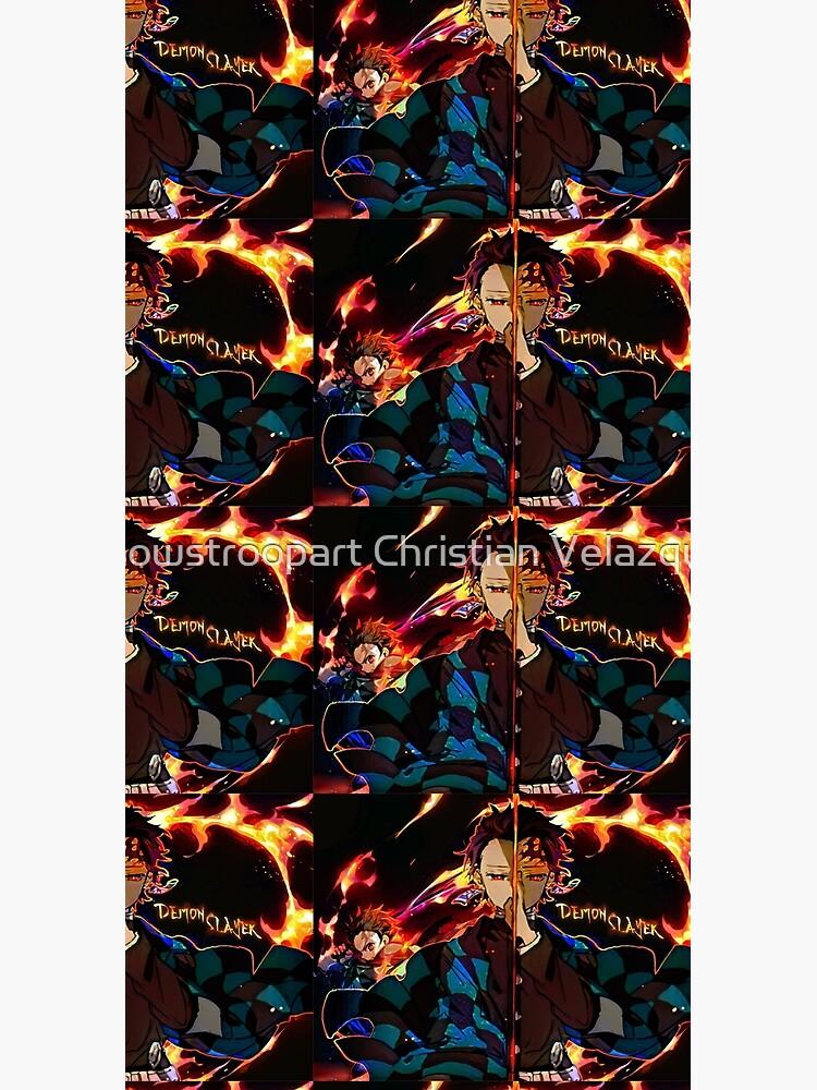 Demon Slayer on Fire  by chrishbk67