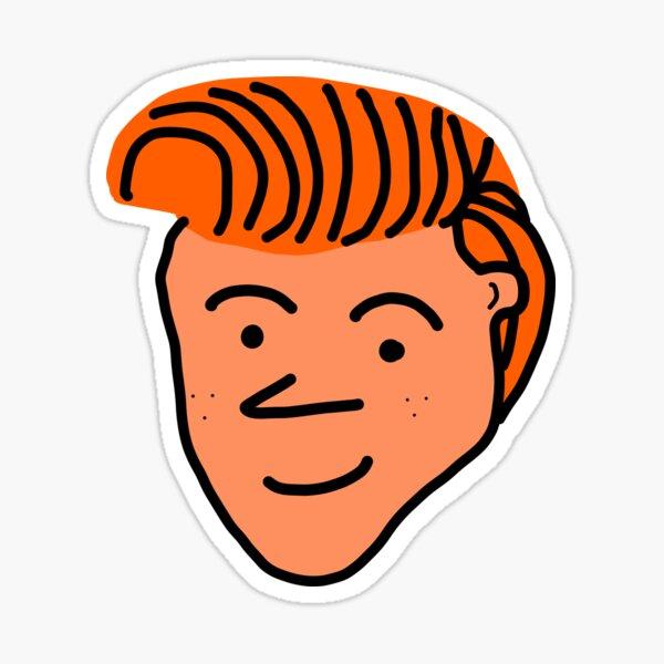 Conan Cartoon Design Sticker