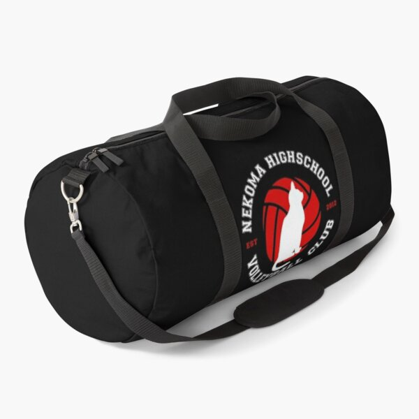 Haikyuu!! Nekoma Highschool Volleyball Club Logo Duffle Bag