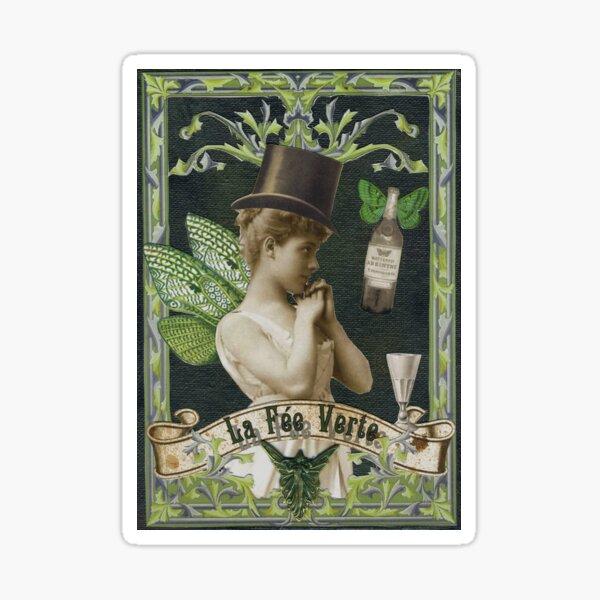 Absinthe Fairy - Verlaine Sticker
