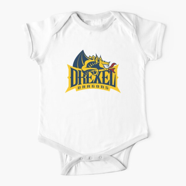 Drexel Dragons Short Sleeve Baby One-Piece