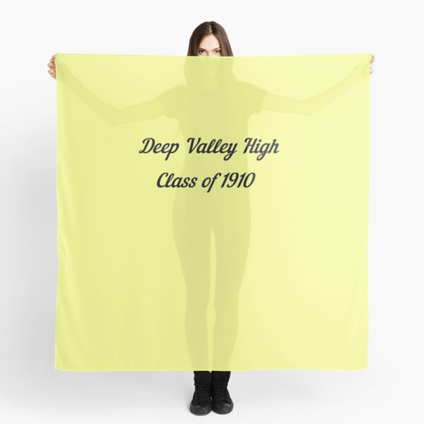 Deep Valley High Class of 1910 -bold Scarf