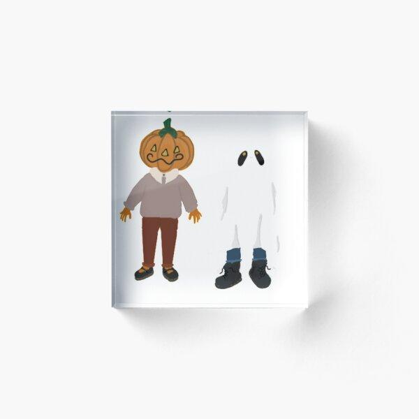 Spooky Friends Acrylic Block
