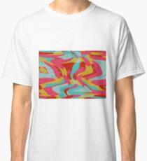 Retro shapes Classic T-Shirt