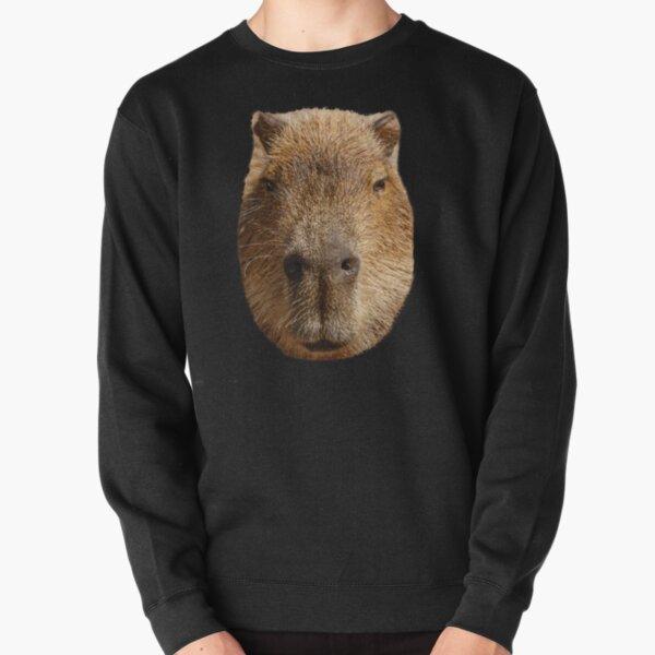 Capybara face Pullover Sweatshirt