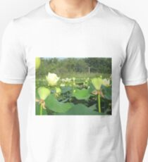 Lotus Patch Unisex T-Shirt