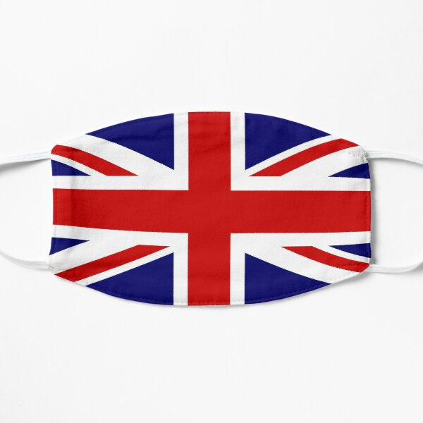 Union Jack Flag Flat Mask
