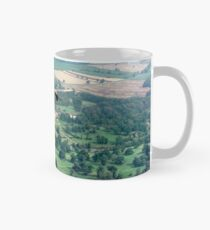 "Lancaster B.1 ""City of Lincoln"" over Burghley House Mug"