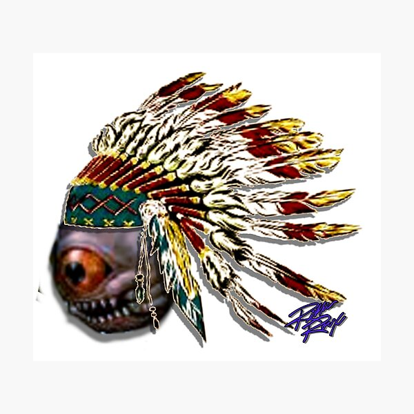 Chief Eye See All Photographic Print