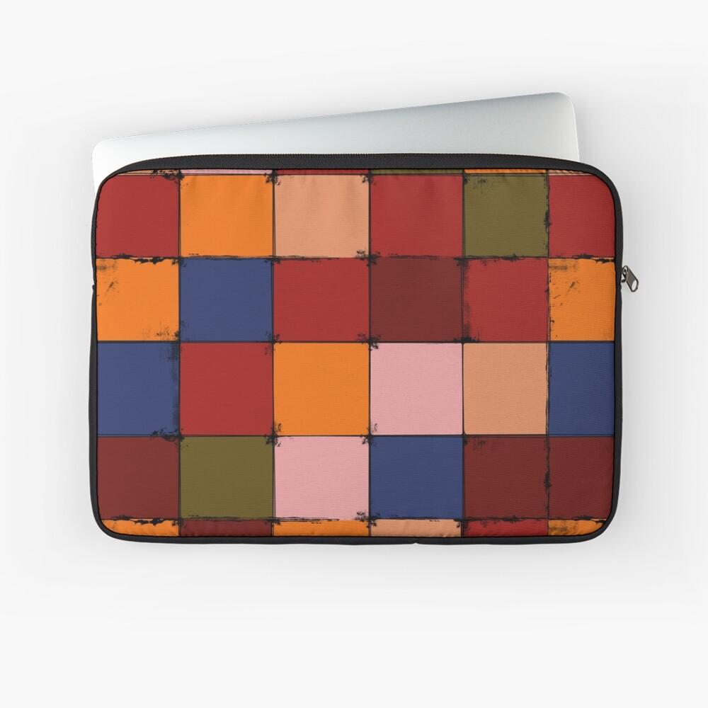 Winter Checkboard Laptop Sleeve