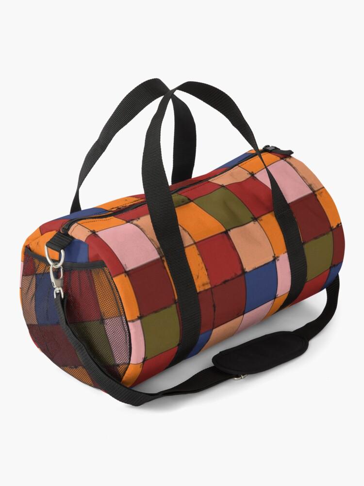 Alternate view of Winter Checkboard Duffle Bag