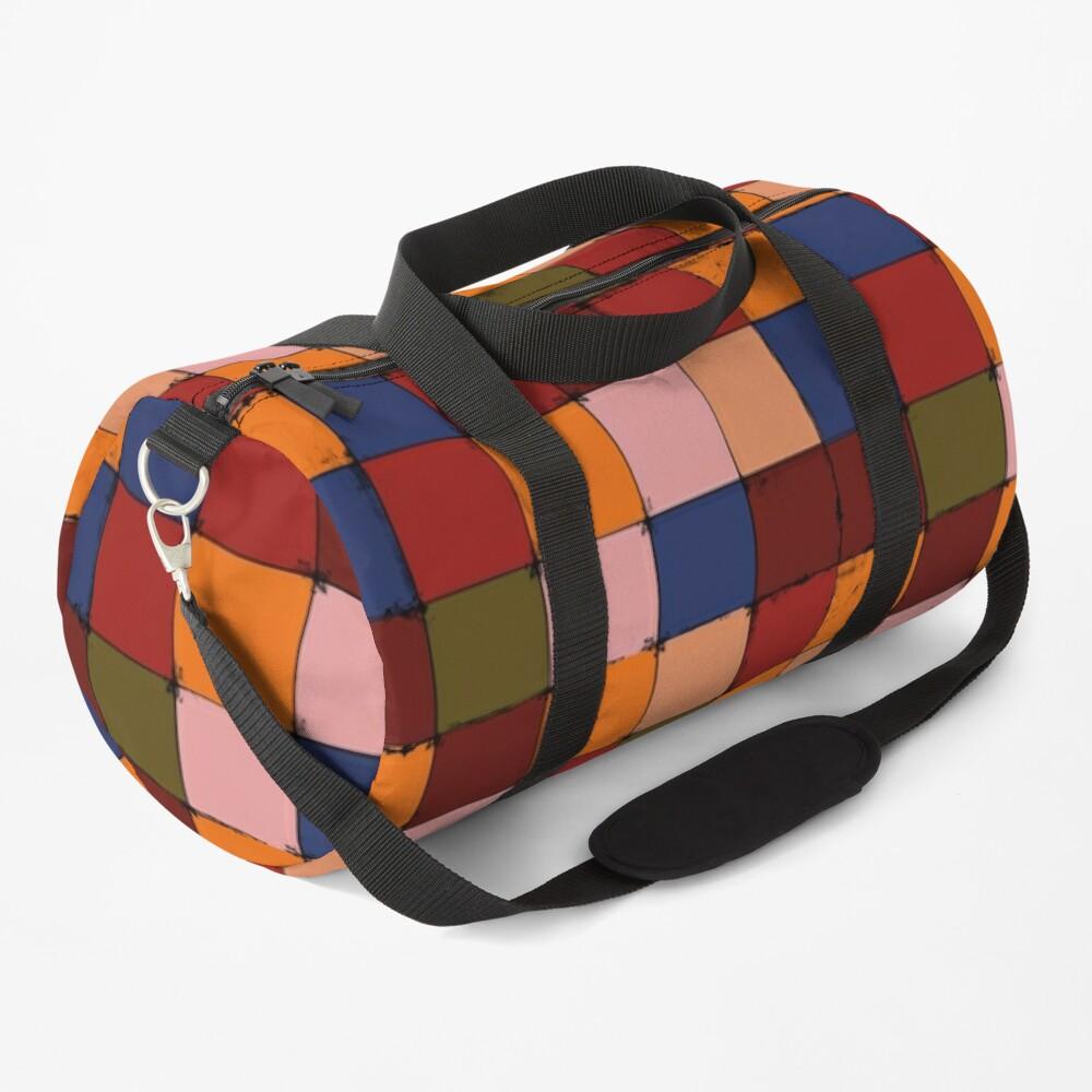 Winter Checkboard Duffle Bag
