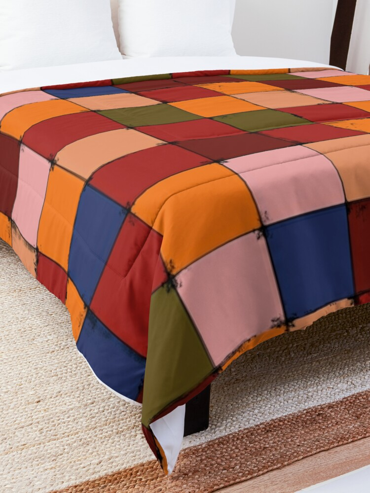Alternate view of Winter Checkboard Comforter