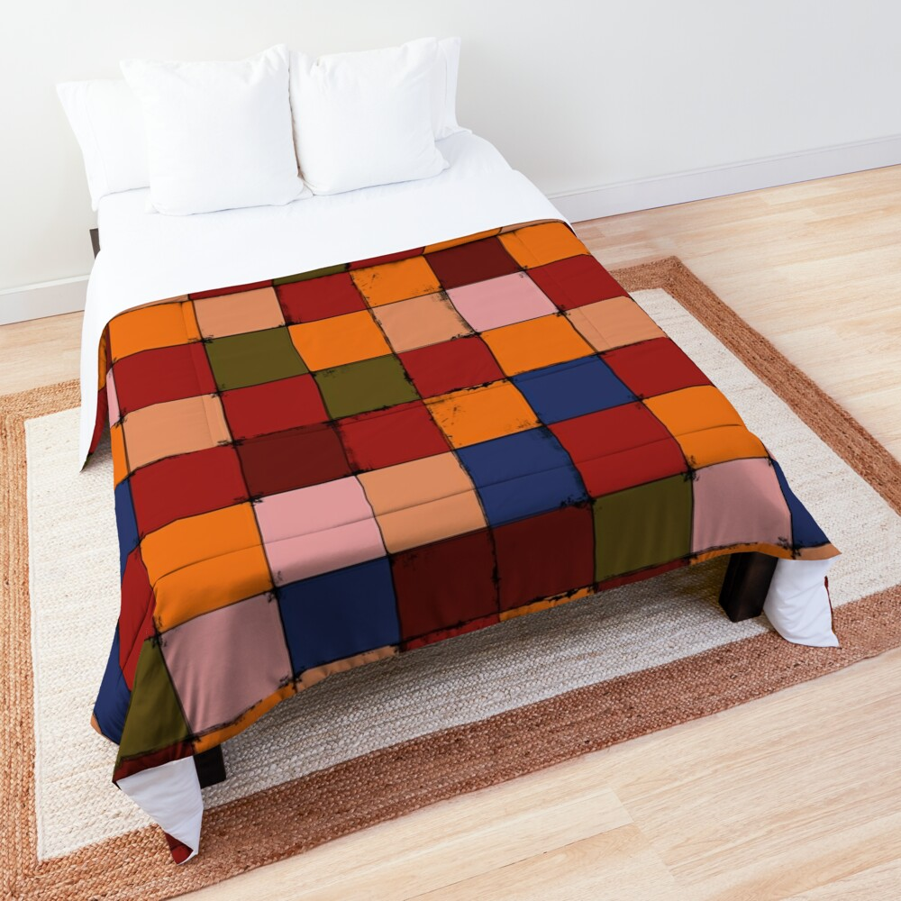 Winter Checkboard Comforter