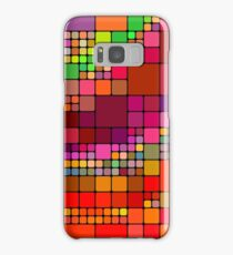 Colorful squares Samsung Galaxy Case/Skin