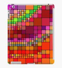 Colorful squares iPad Case/Skin