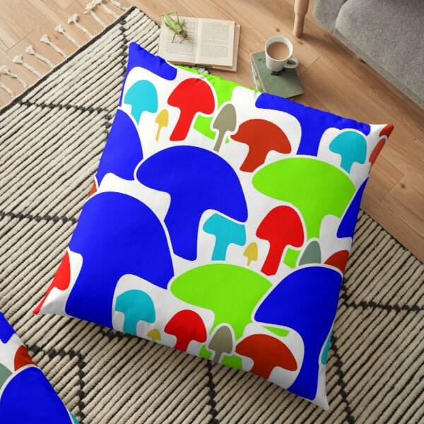 Mushrooms (04) Floor Pillow