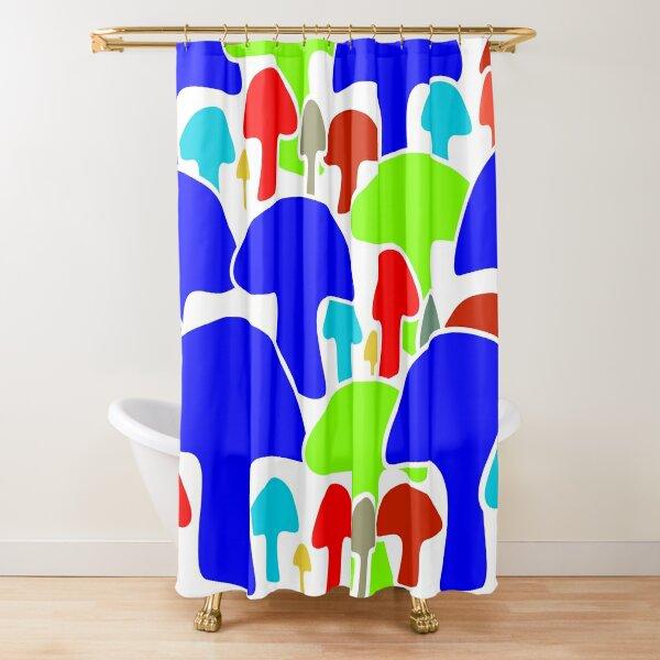 Mushrooms (04) Shower Curtain