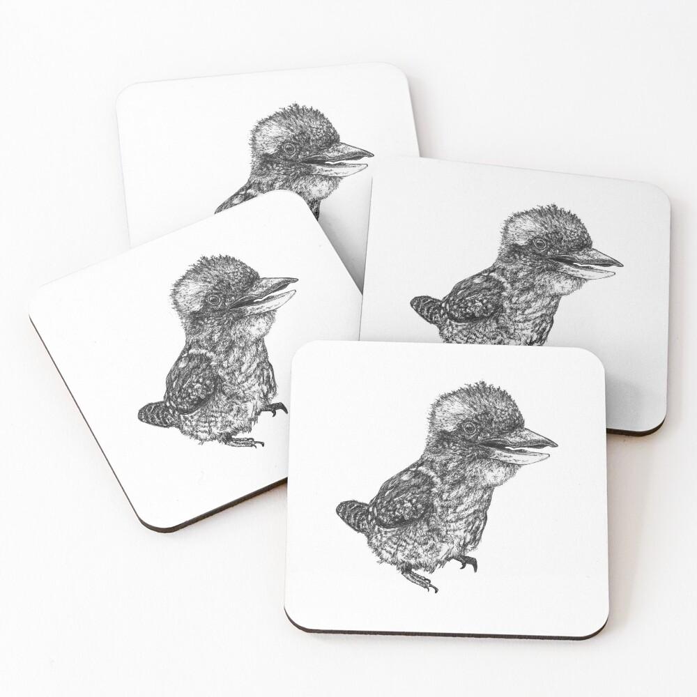 Mu Mu the Kookaburra Coasters (Set of 4)
