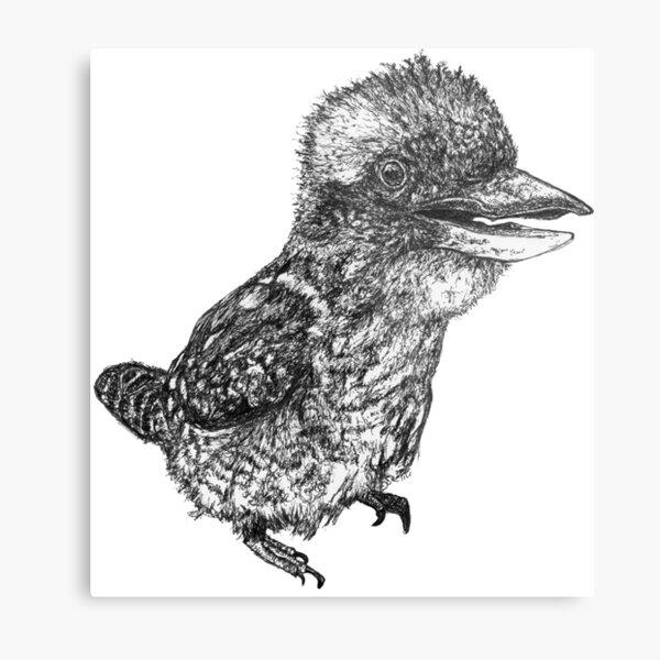 Mu Mu the Kookaburra Metal Print