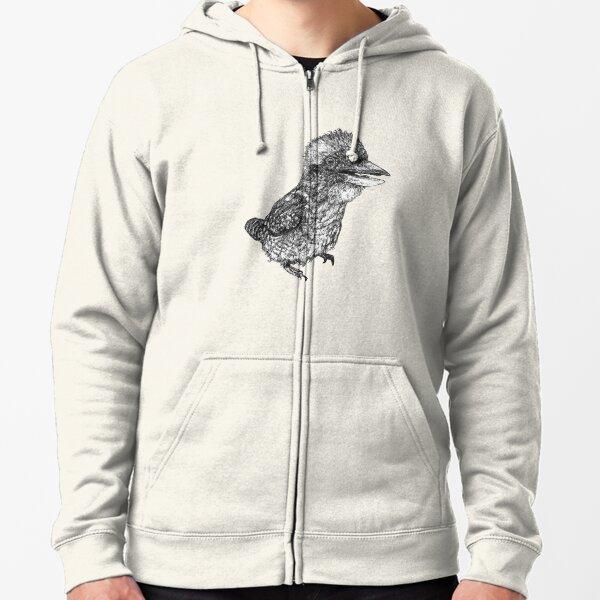 Mu Mu the Kookaburra Zipped Hoodie