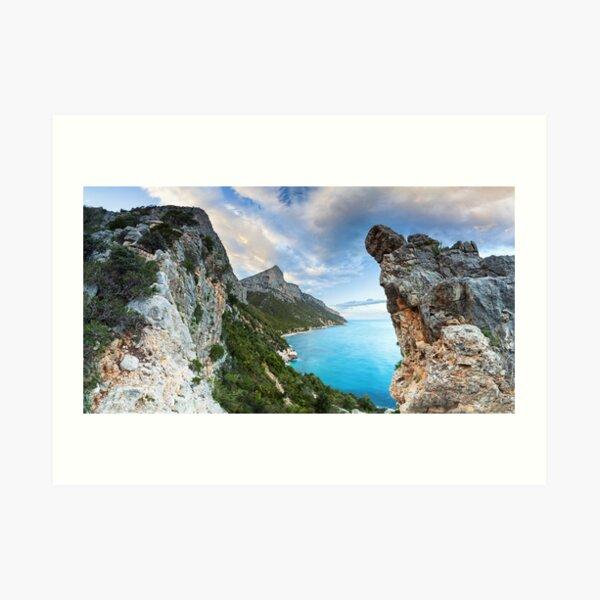 Panoramic Pedra Longa Art Print