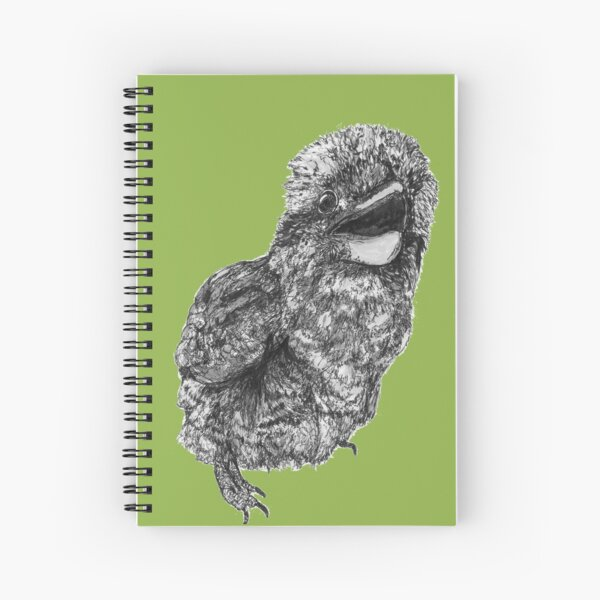 Nelson the Kookaburra Spiral Notebook