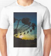 Amusement park sunset T-Shirt