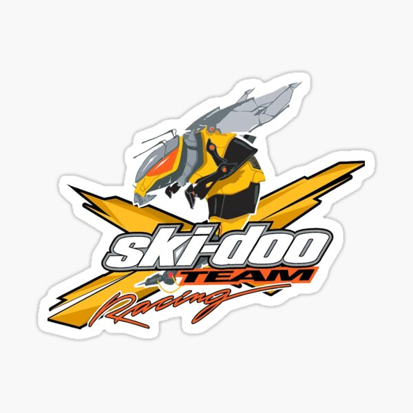 Ski-Doo Logo Sticker