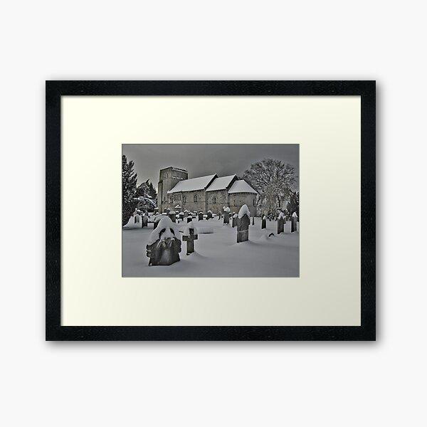 Crisp & Even Framed Art Print