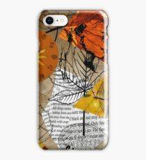 Automn leaves iPhone Case/Skin