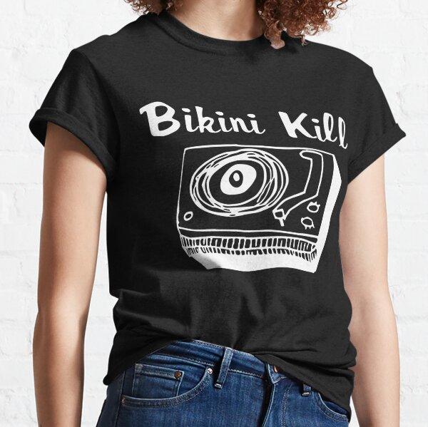 Bikini Kill Logo - White Classic T-Shirt
