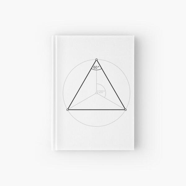 Regular triangle,  polygon, Dihedral, angle, Dual polygon, Convex, cyclic, equilateral, isogonal, isotoxal Hardcover Journal