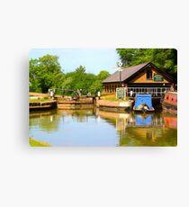 Bulbourne Dry Dock Canvas Print