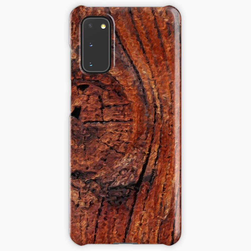 Wood Knot Case & Skin for Samsung Galaxy