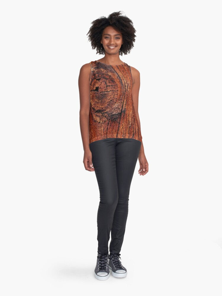 Alternate view of Wood Knot Sleeveless Top